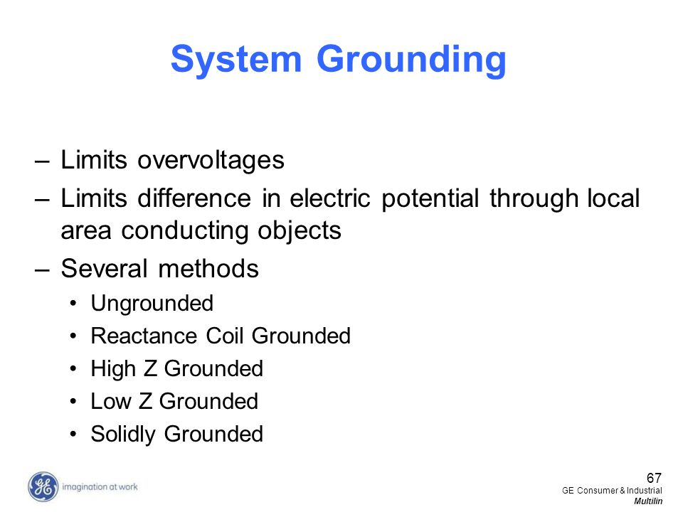 System Grounding Limits overvoltages