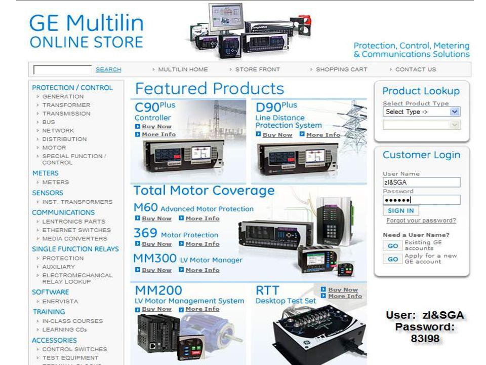 7 GE Consumer & Industrial Multilin