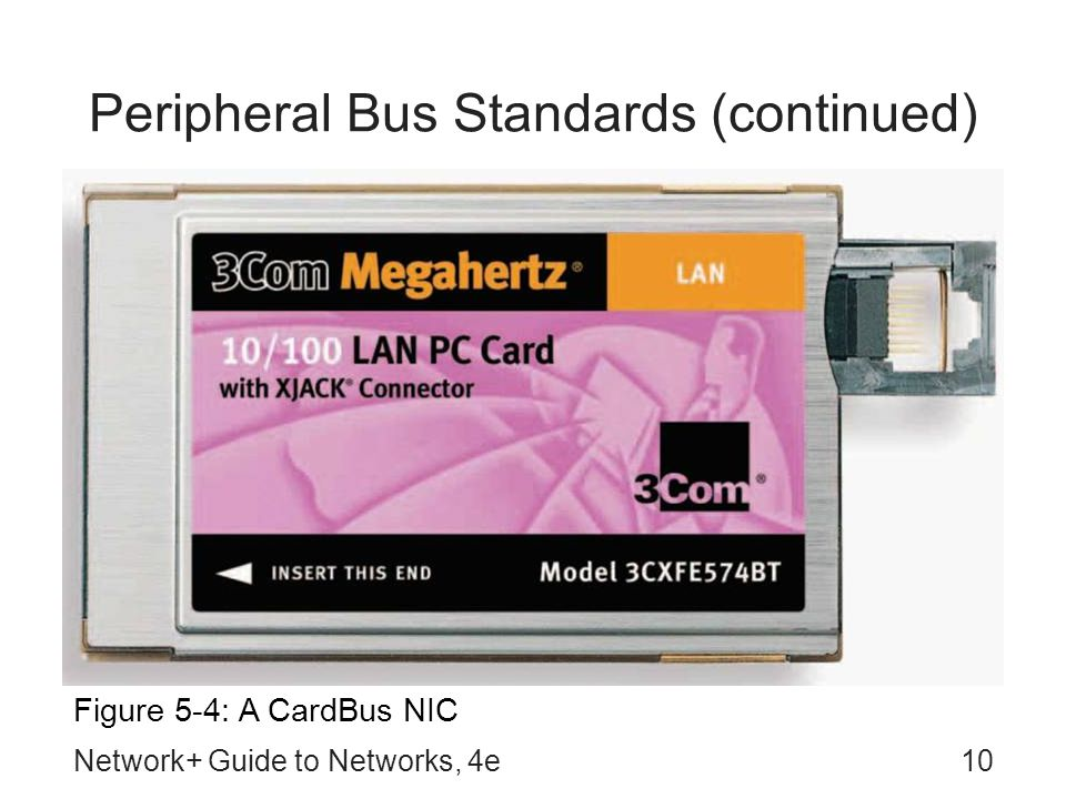 Peripheral Bus Standards (continued)