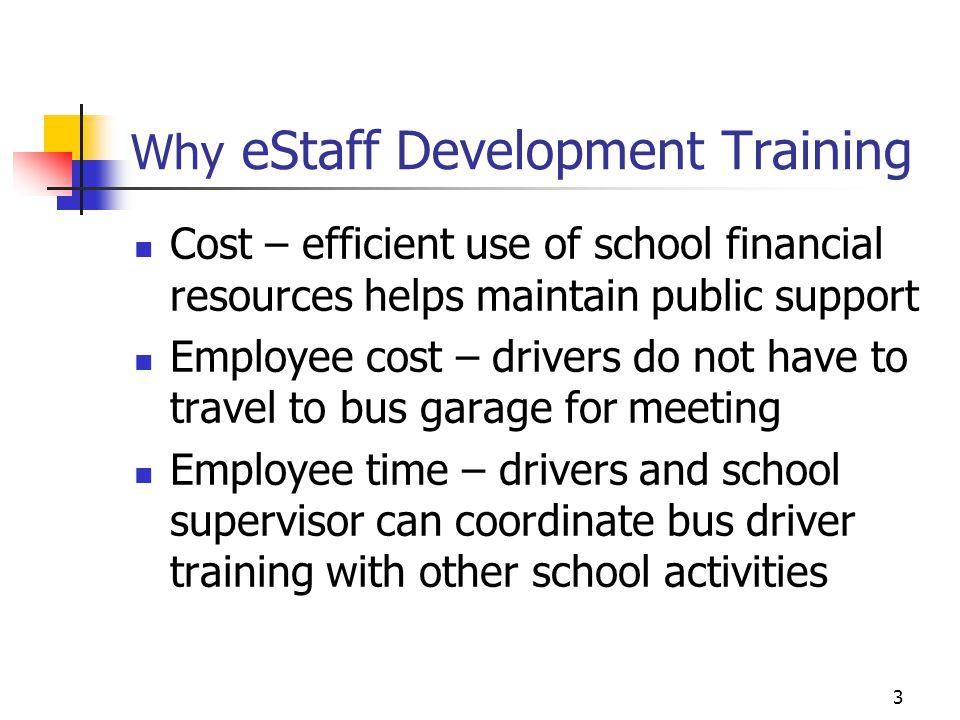 Why eStaff Development Training