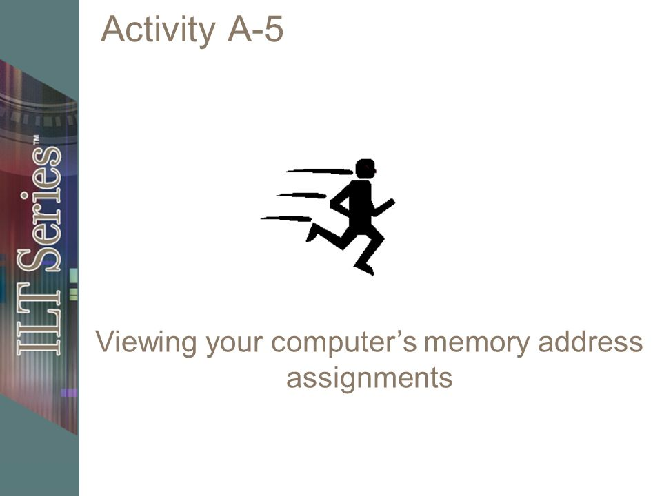 Viewing your computer's memory address assignments