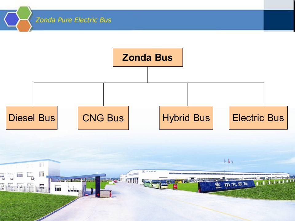 Zonda Bus Diesel Bus CNG Bus Hybrid Bus Electric Bus