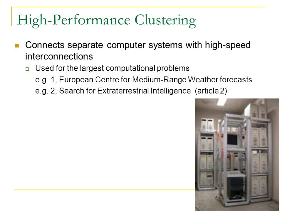 High-Performance Clustering