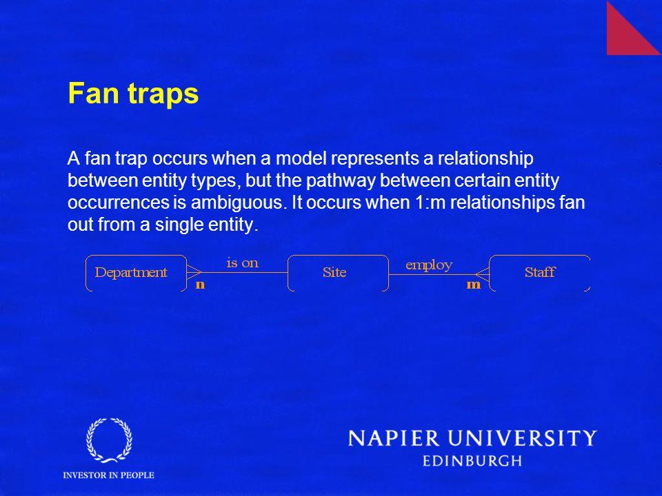Fan traps