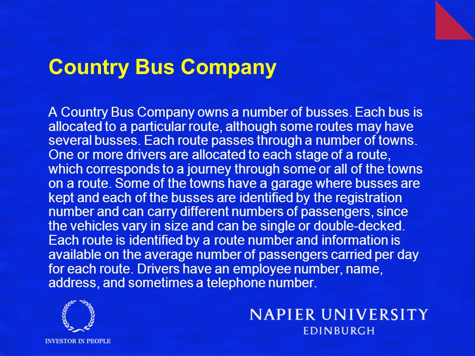 Country Bus Company