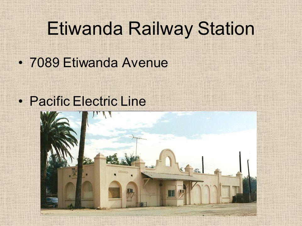 Etiwanda Railway Station