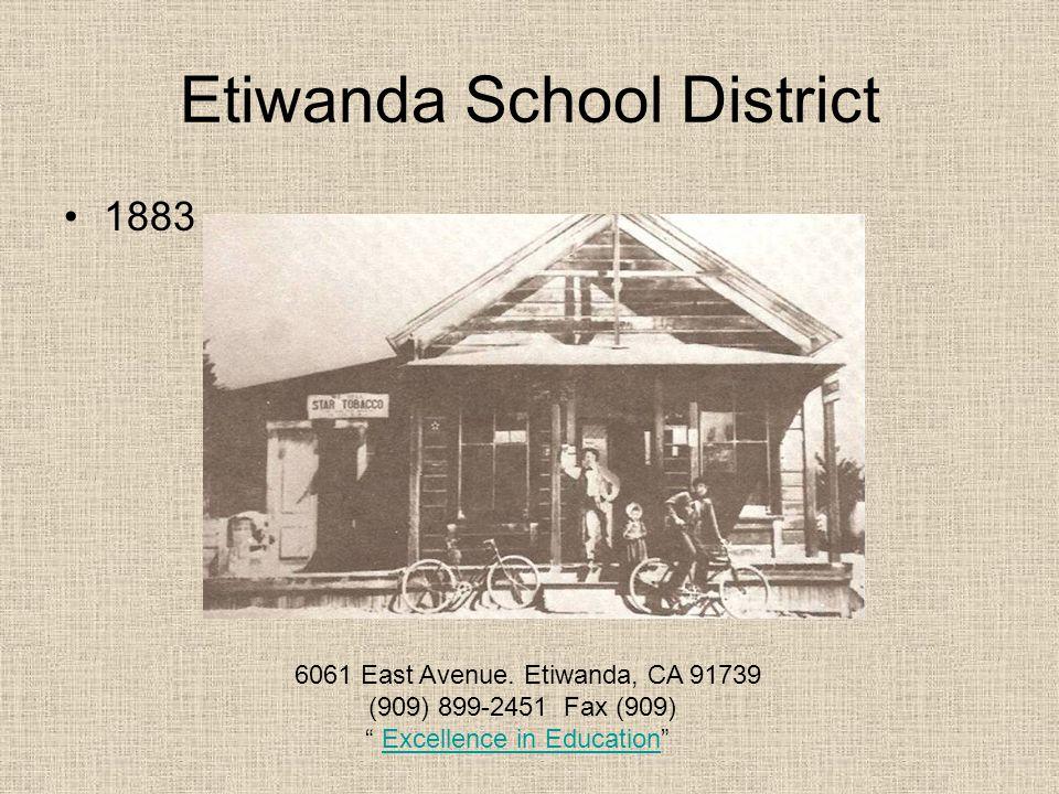 Etiwanda School District