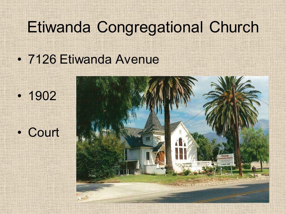 Etiwanda Congregational Church