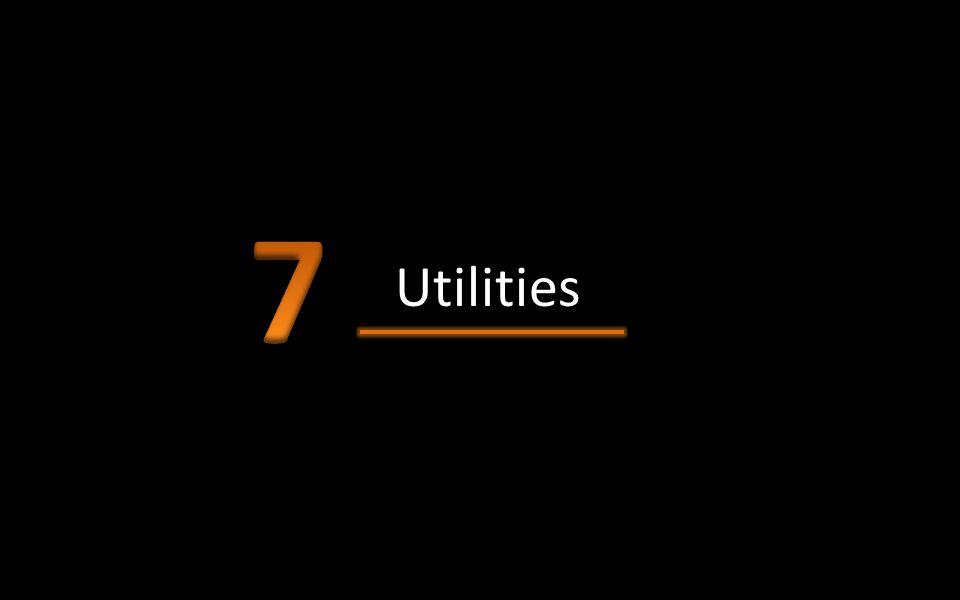 7 Utilities