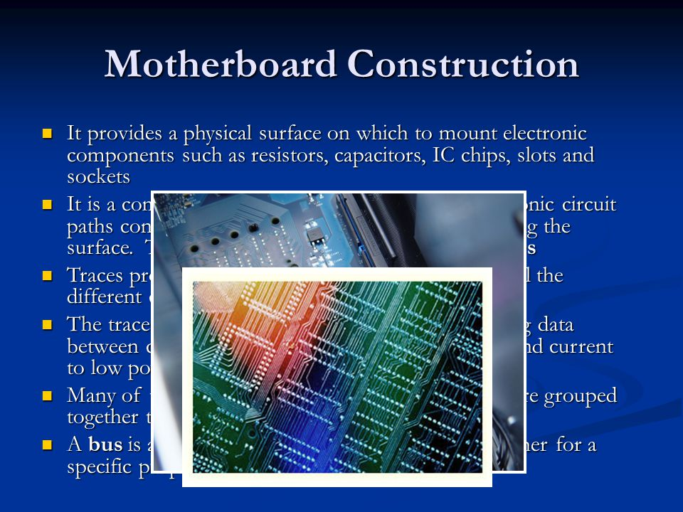 Motherboard Construction