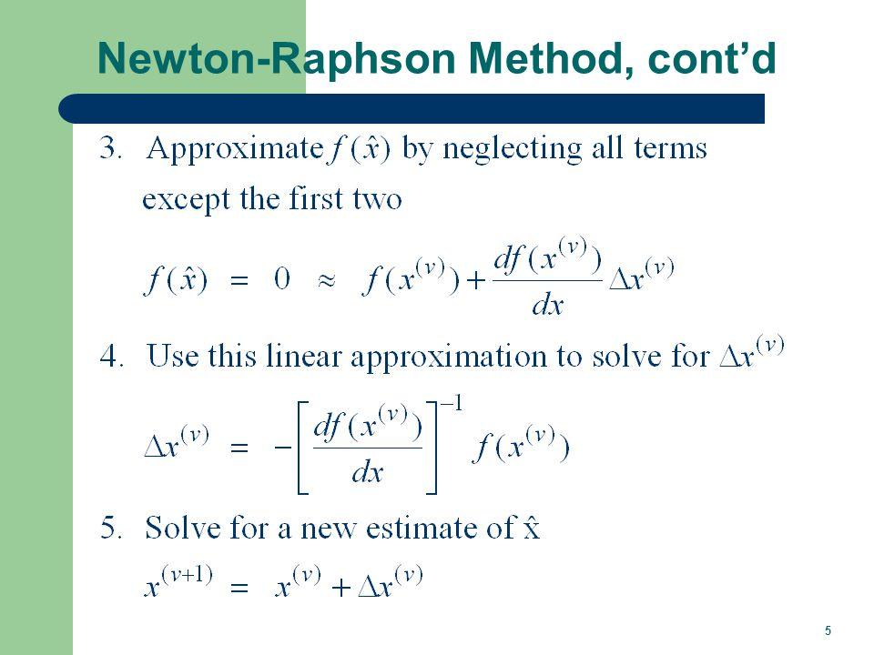 Newton-Raphson Example