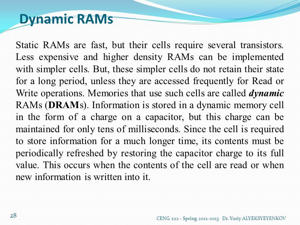 Dynamic RAMs