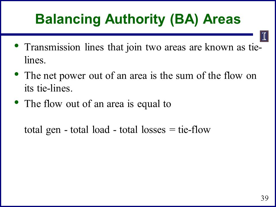 Balancing Authority (BA) Areas