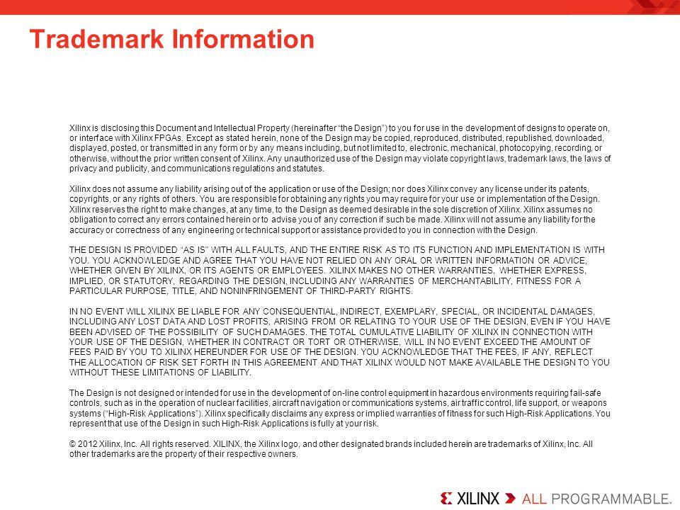 Trademark Information