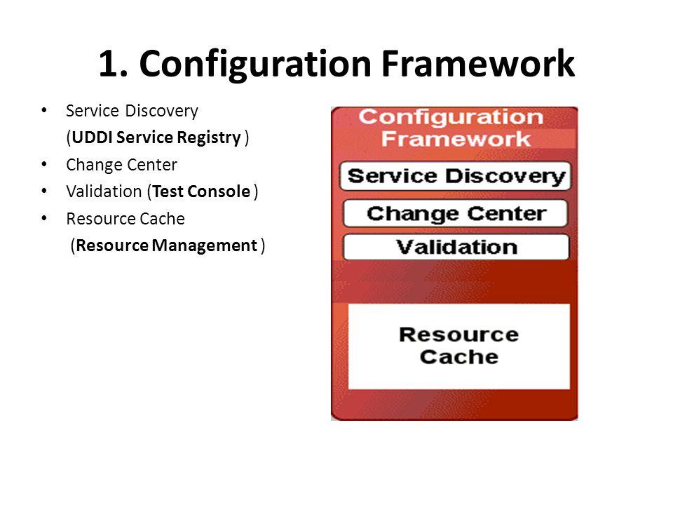 1. Configuration Framework