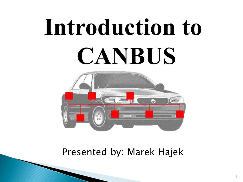 Introduction to CANBUS