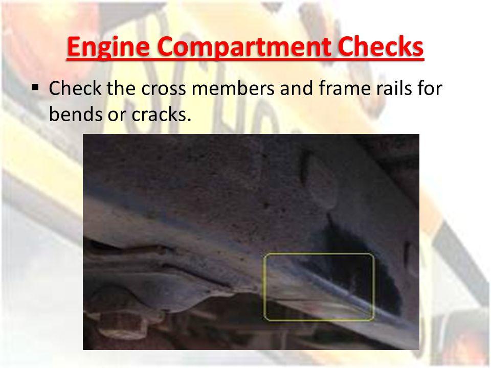 Engine Compartment Checks