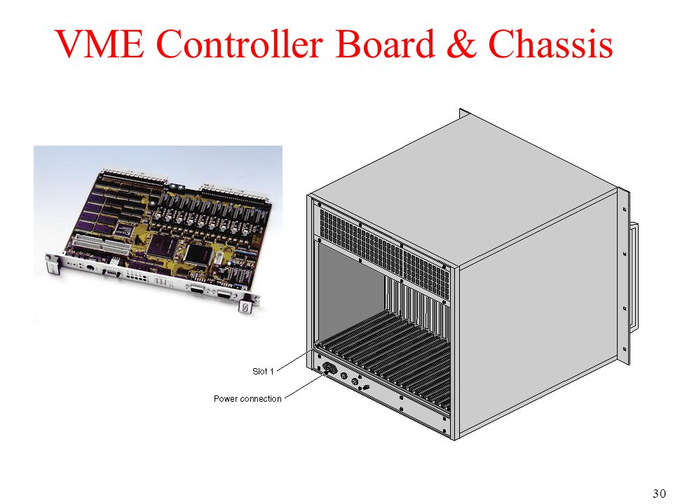 VME Controller Board & Chassis