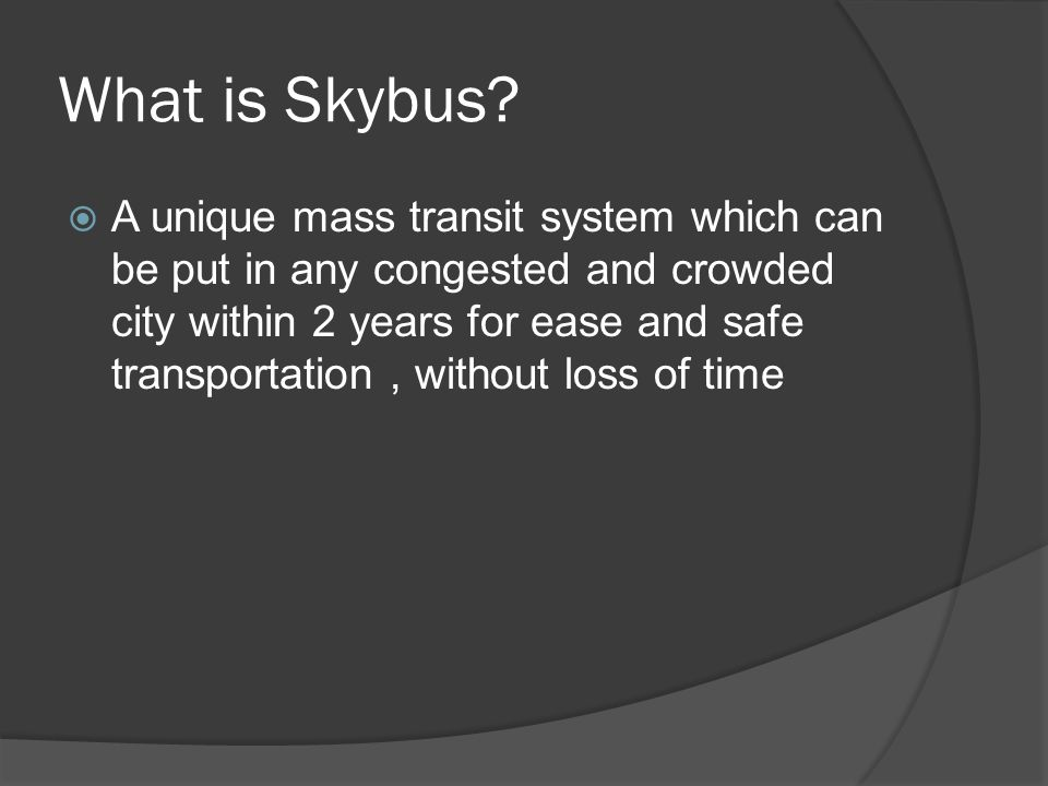 What is Skybus