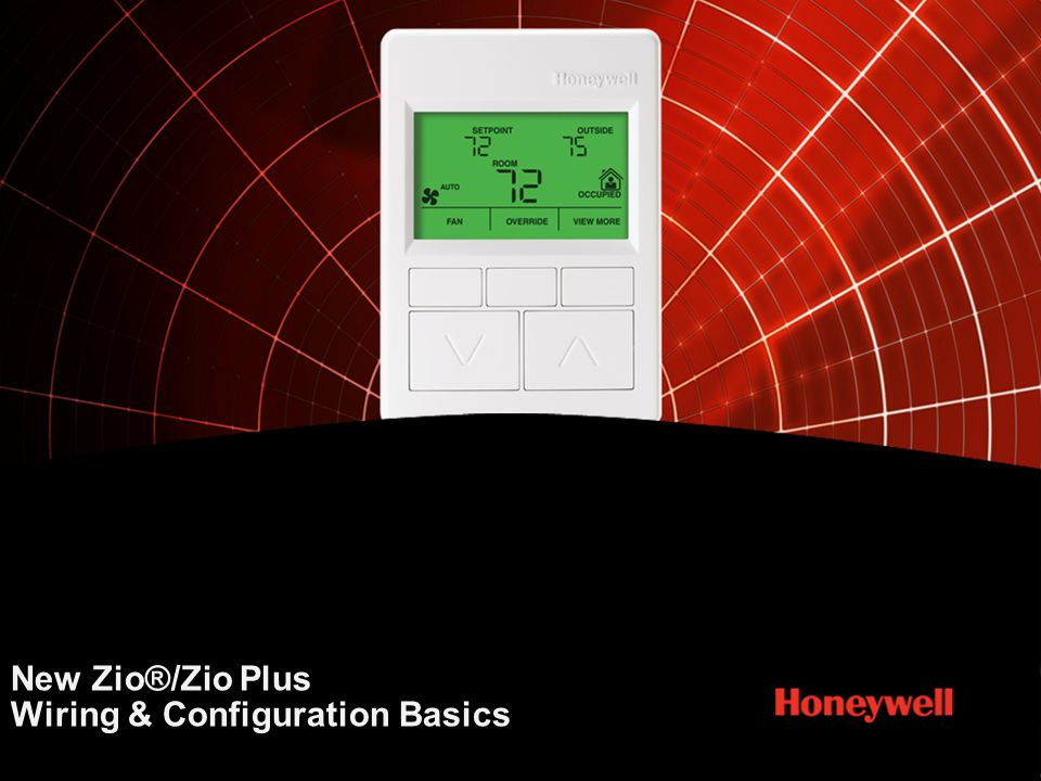 New Zio®/Zio Plus Wiring & Configuration Basics