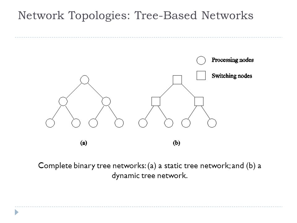 Network Topologies: Tree-Based Networks