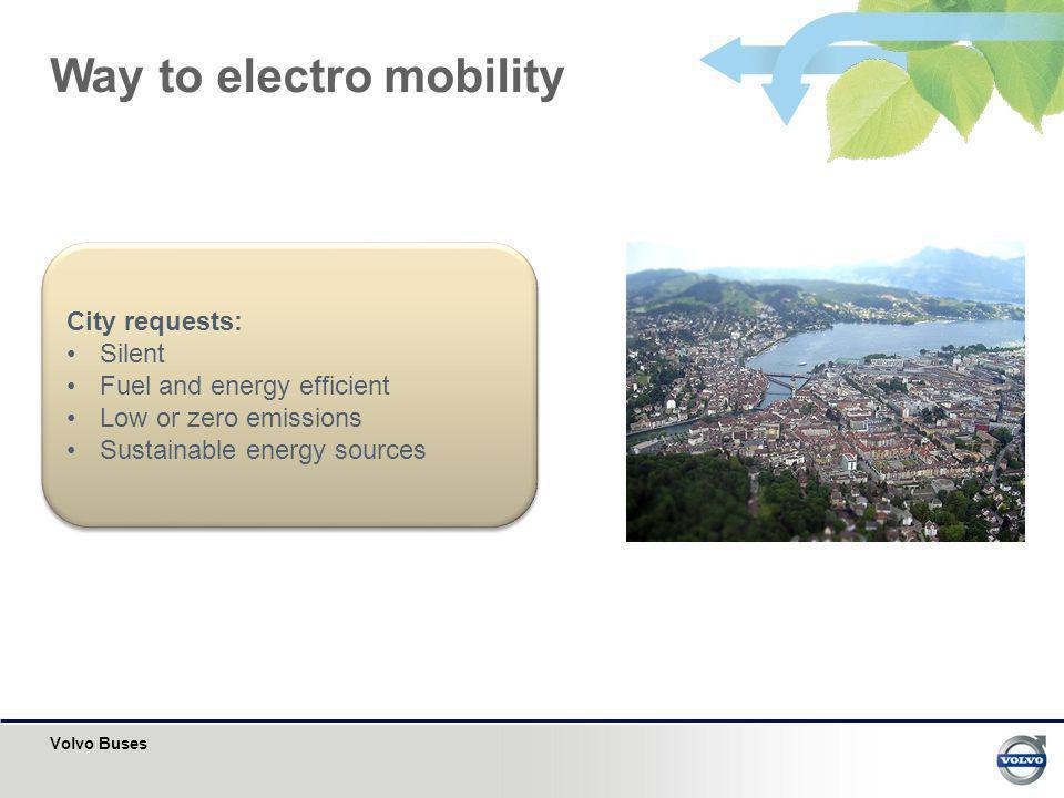 Way to electro mobility