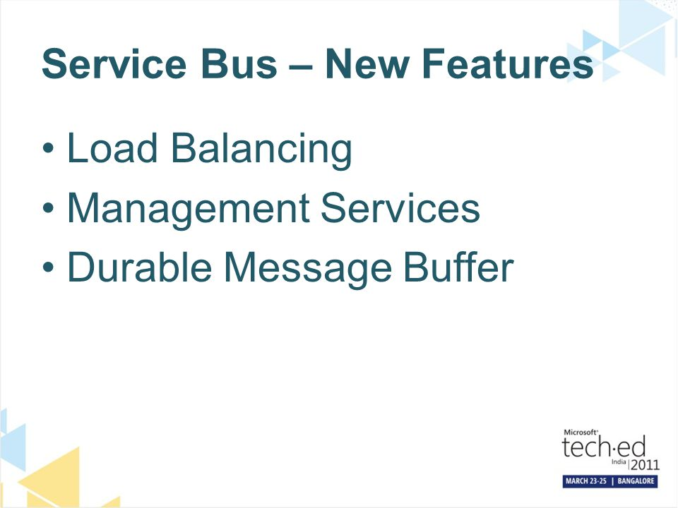 Service Bus – New Features