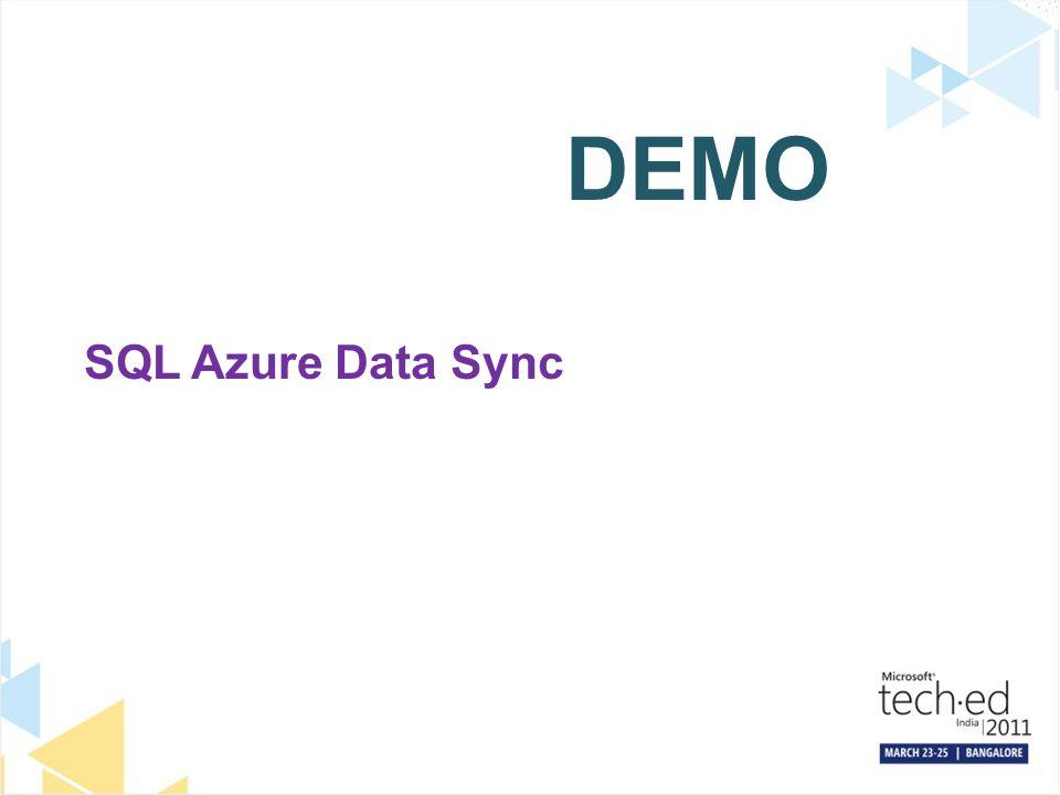 DEMO SQL Azure Data Sync