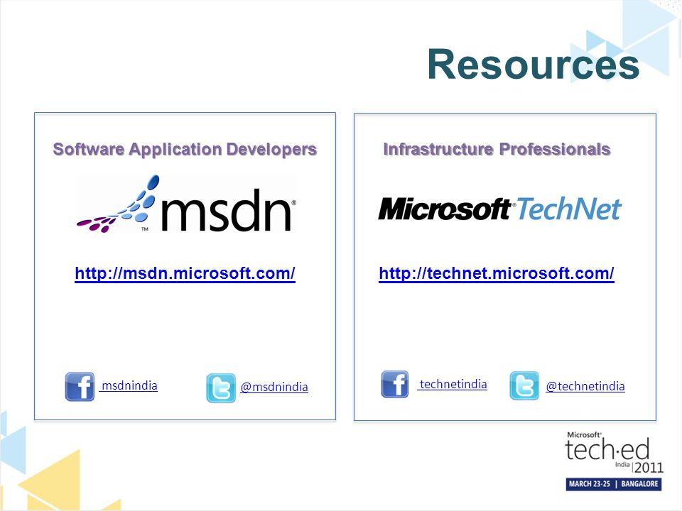 Software Application Developers Infrastructure Professionals