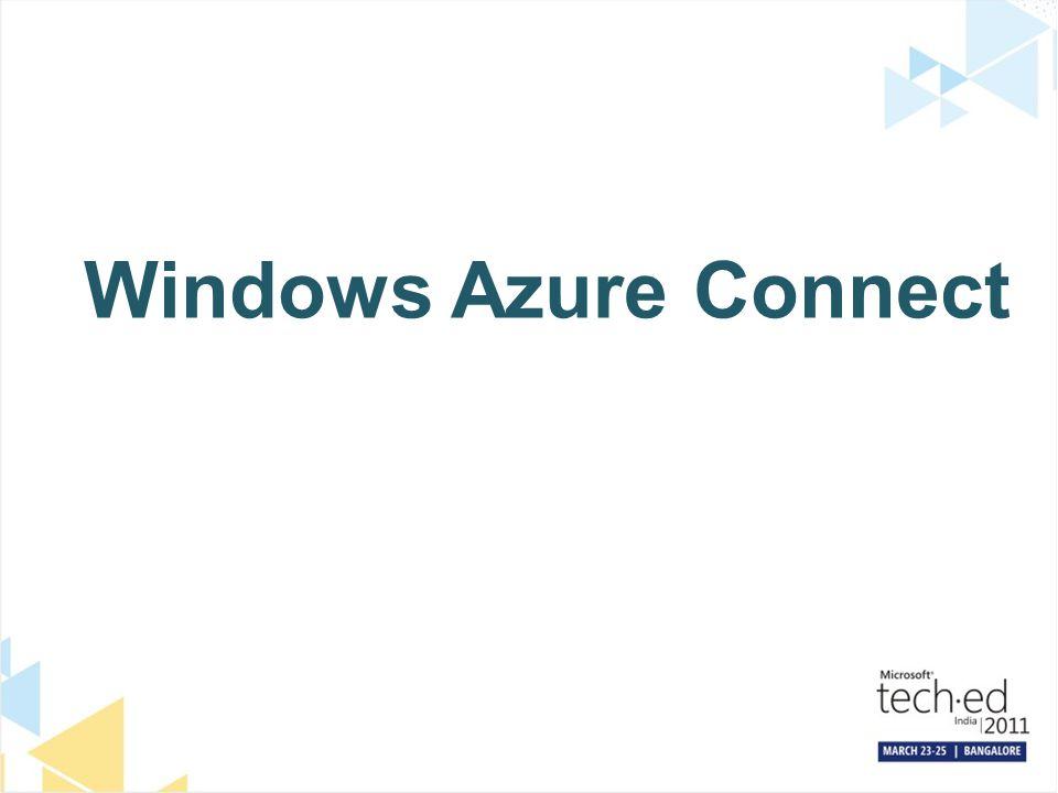 Windows Azure Connect