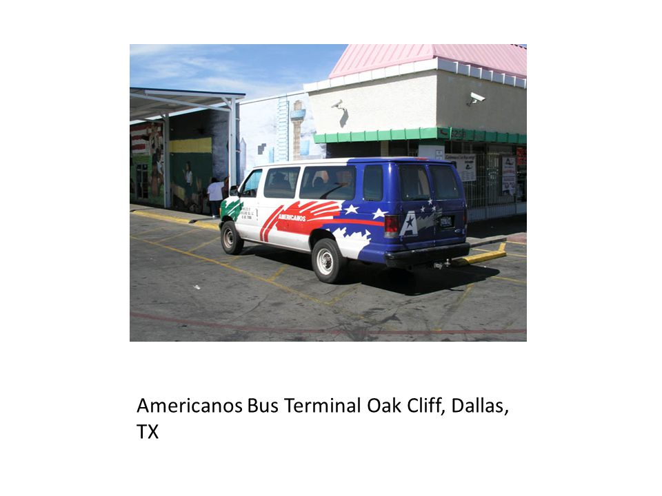 Americanos Bus Terminal Oak Cliff, Dallas, TX