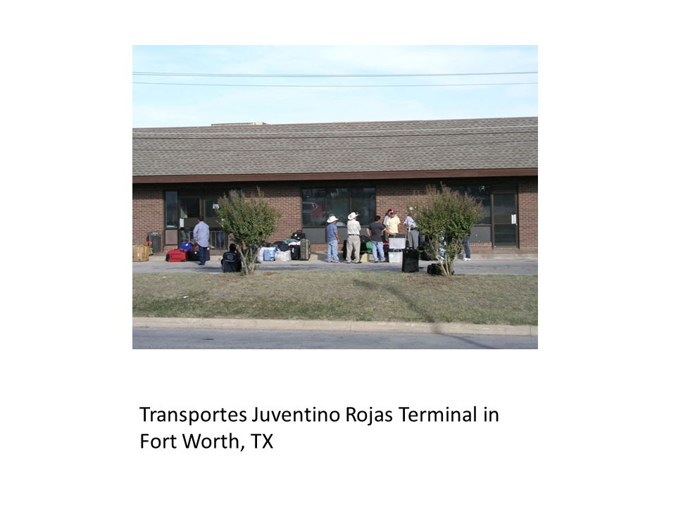 Transportes Juventino Rojas Terminal in Fort Worth, TX