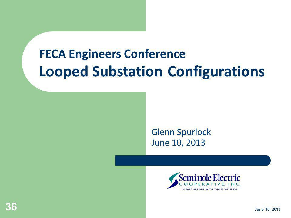 Looped Substation Configurations