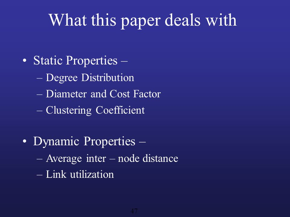 What this paper deals with