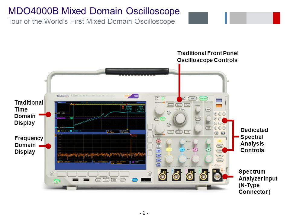 MDO4000B Mixed Domain Oscilloscope