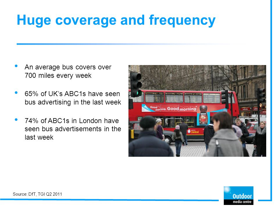 Huge coverage and frequency