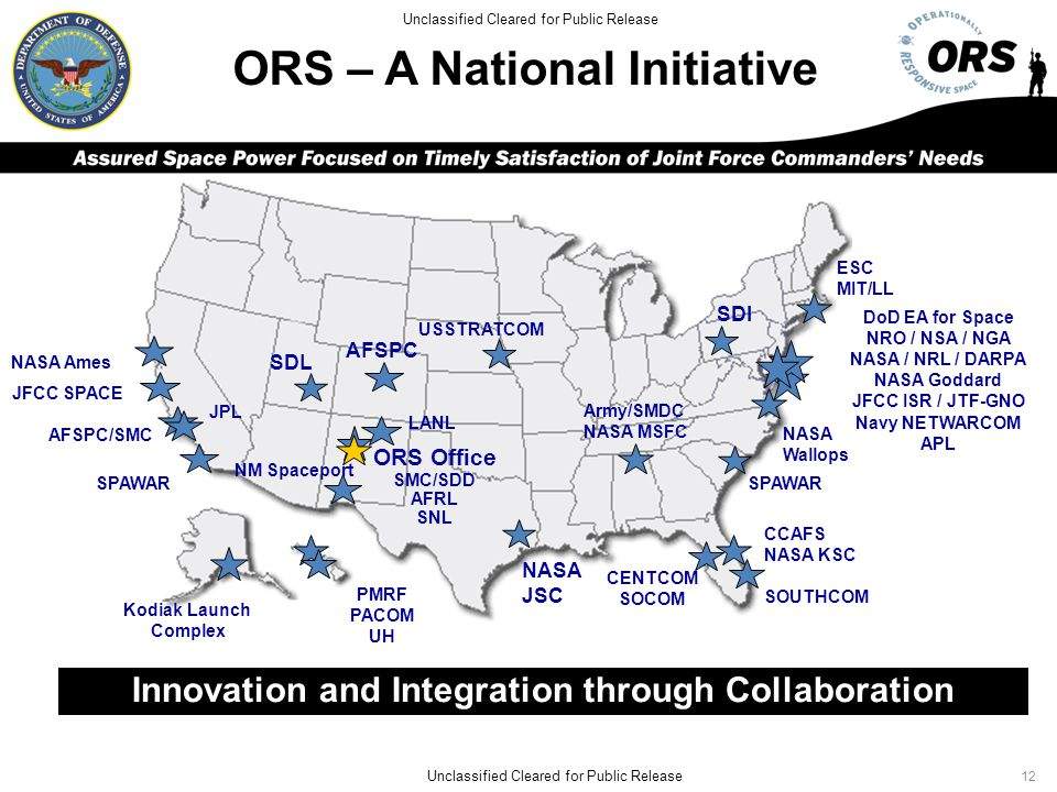 ORS – A National Initiative