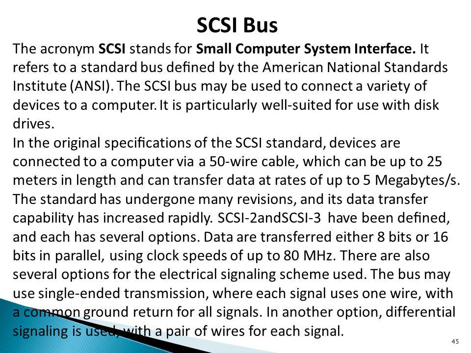 SCSI Bus
