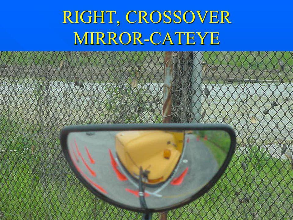 RIGHT, CROSSOVER MIRROR-CATEYE