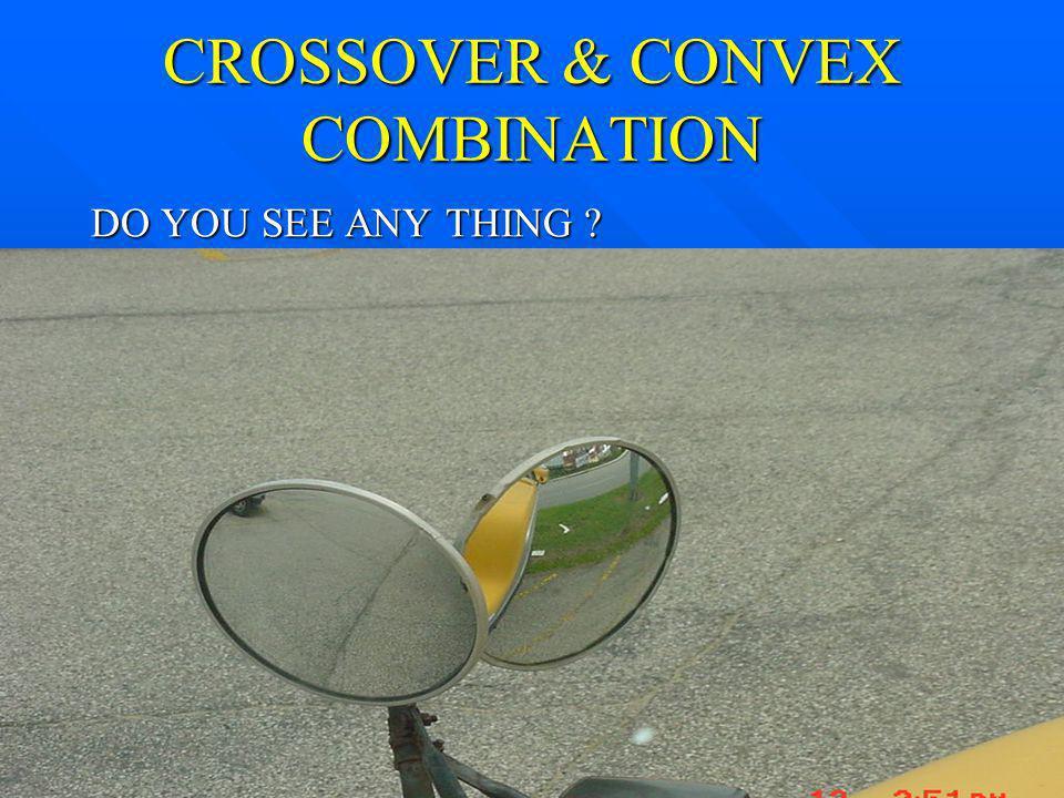 CROSSOVER & CONVEX COMBINATION