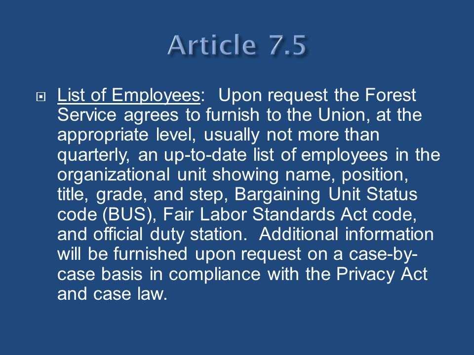 Article 7.5
