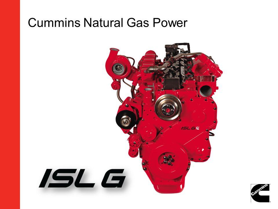 Cummins Natural Gas Power