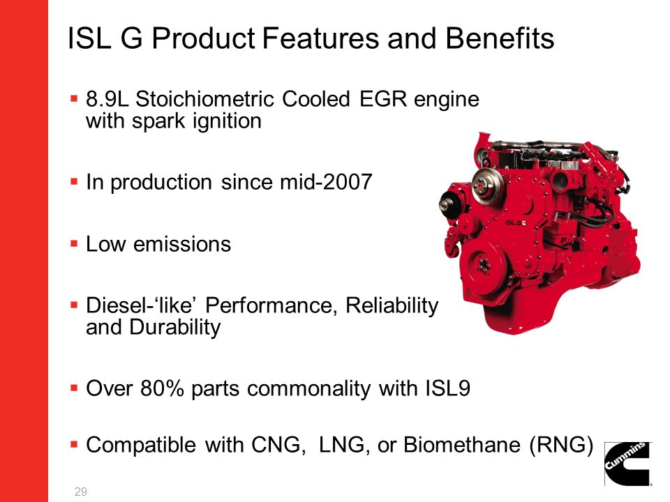ISL G Product Features and Benefits