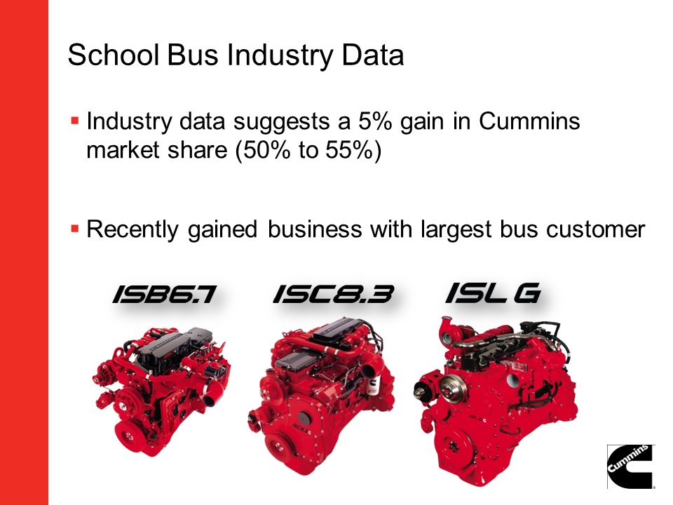 School Bus Industry Data