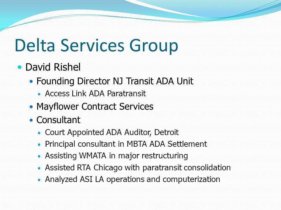 Delta Services Group David Rishel