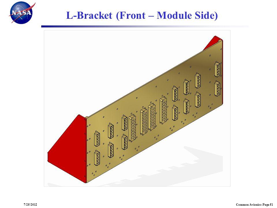 L-Bracket (Front – Module Side)