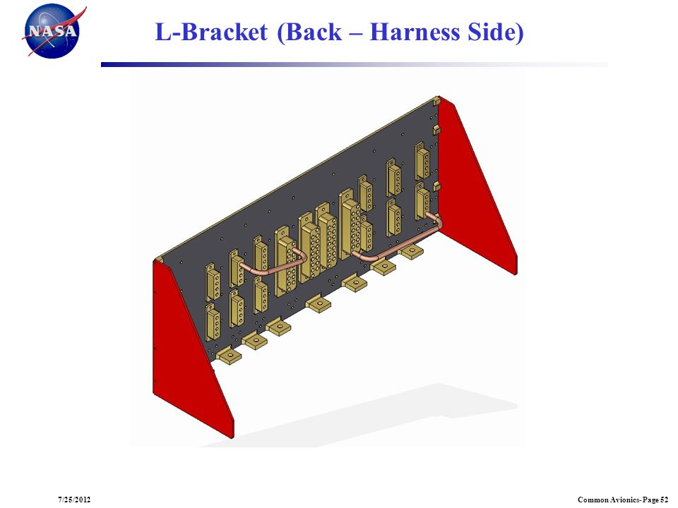L-Bracket (Back – Harness Side)