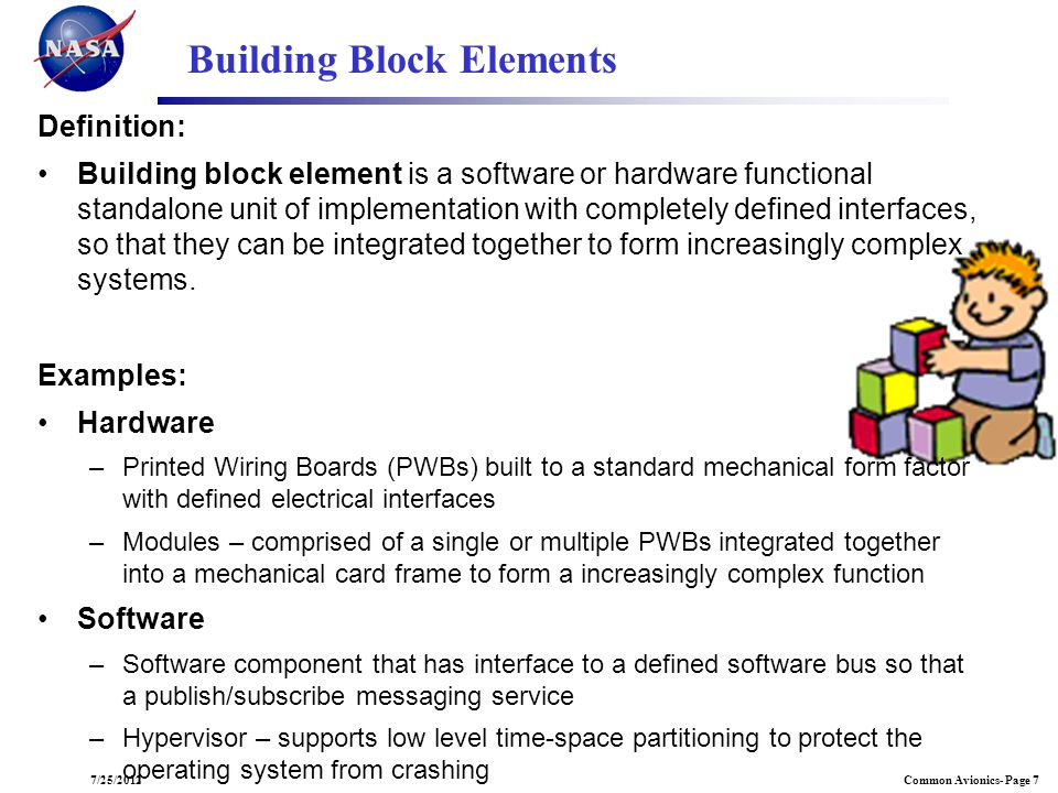 Building Block Elements
