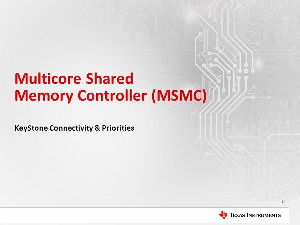 Multicore Shared Memory Controller (MSMC)