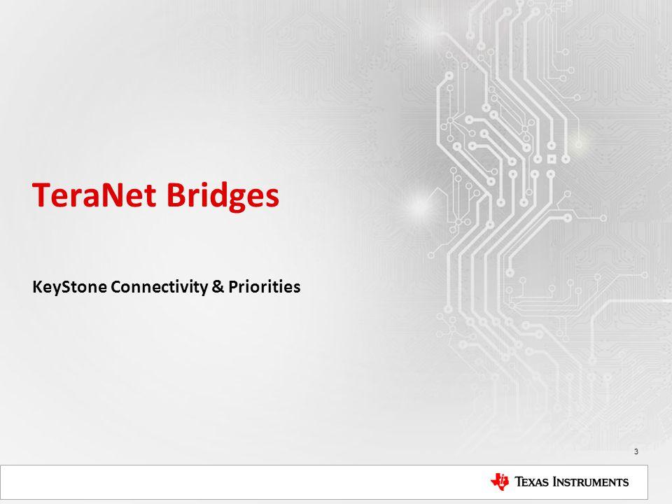 KeyStone Connectivity & Priorities